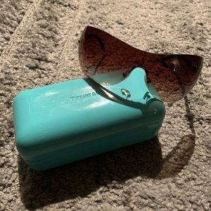 Tiffany Gold Sunglasses TF 3015